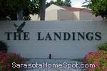 sign at entrance to The Landings in Sarasota
