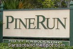 sign in front of Pine Run in Osprey