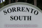 sign in front of Sorrento South in Nokomis