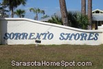 sign in front of Sorrento Shores in Nokomis