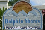 sign in front of Dolphin Shores in Nokomis
