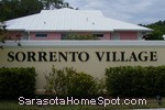 sign in front of Sorrento Village in Nokomis