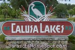 sign in front of Calusa Lakes in Nokomis