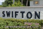 sign in front of Swifton Villas in Sarasota