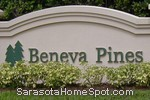 sign in front of Beneva Pines in Sarasota