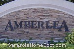 sign in front of Amberlea in Sarasota