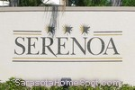 sign in front of Serenoa in Sarasota